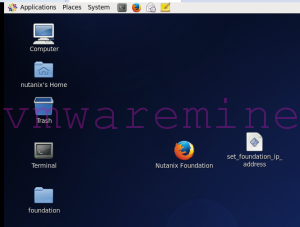 Nutanix Foundation Desktop