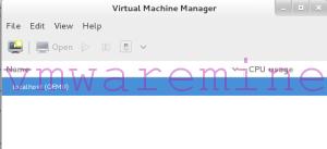 virt-manager on CentOS KVM