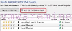 Hyper-V LiveMigration