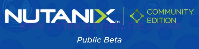 Nutanix Community Edition