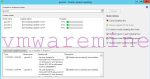 Install windows updates on Hyper-V