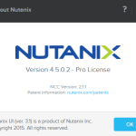 Nutanix basics – which NOS version my cluster is running on