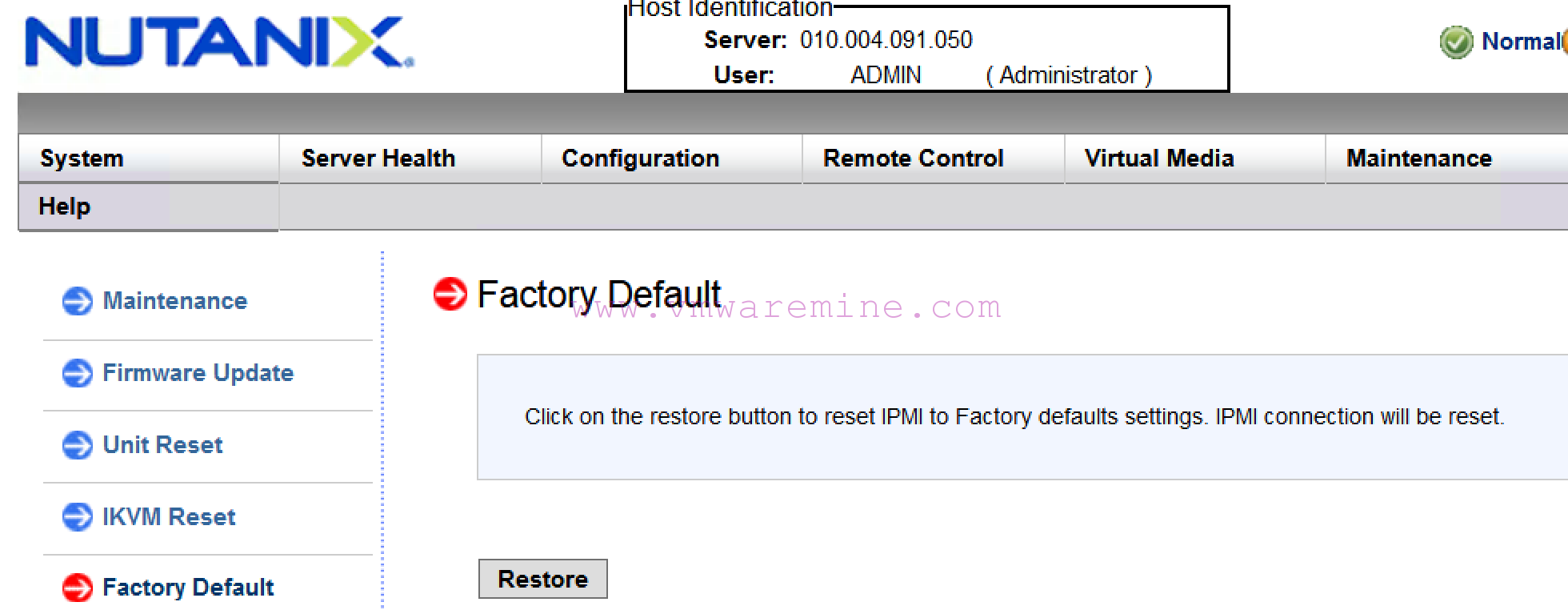IPMITOOL - Get Session Challenge command failed: Invalid data field